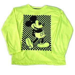Disney Mickey Mouse Boy's Long Sleeve Shirt NWOT